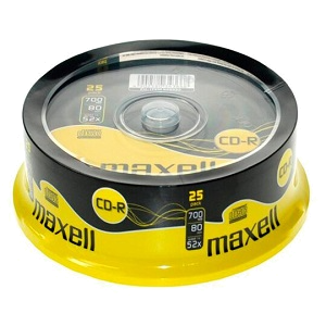 Maxell CD-R 25 pack